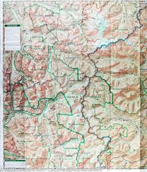 Wenatchee Washington Map by Trail Map Of Glacier Peak Wilderness Area Mt Baker Snoqualmie