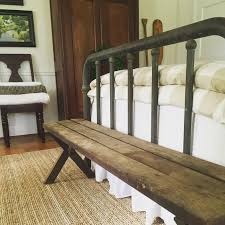 Benches For Foot Of Bed Best 25 Rustic Bedroom Benches Ideas On Pinterest Diy Rustic