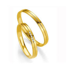 alliance or bague fiancaille petit budget alliance or jaune homme polie
