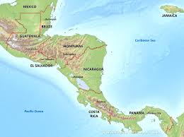 jamaica physical map map of mexico mountain ranges lapiccolaitalia info