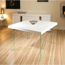modern square dining table beautiful design white square dining table fun modern square