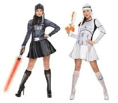 star wars women costumes vader stormtrooper fancy dress