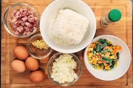 fried rice recipe using leftover thanksgiving ham a la