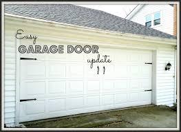 garage door decorative hardware home depot bluegrass pearls diy garage door update
