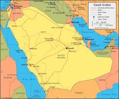 arab map saudi arabia map and satellite image