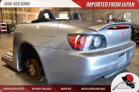 nissan s2000 honda s2000 rhd ap1 jdm rear end panels sub frame calipers bumper