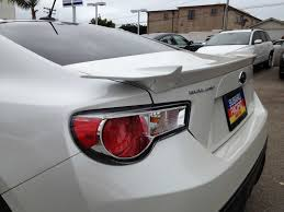 subaru brz spoiler wtt s vic white bootlid for white brz new gts bootlid scion fr