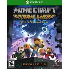 minecraft story mode season disc xbox one walmart com
