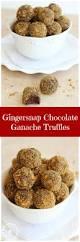 pumpkin spice cinnamon chocolate ganache gingerbread truffles pin jpg