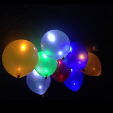 glow in the balloons 10pcs led flash balloons illuminated led balloon glow in the