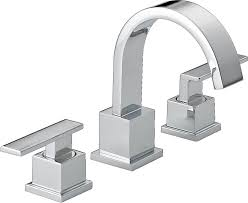 delta 3553lf vero two handle widespread bathroom faucet chrome