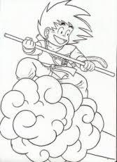 draw goku ssj ms paint step 3 dragon ball fan art