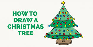 christmas archives easy drawing guides