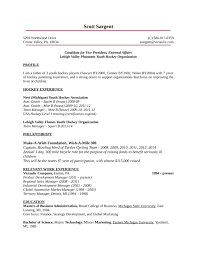 Teenage Resume Examples by One Page Youth Development Manager Resume Template