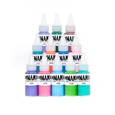 tattoo ink set dynamic color blends
