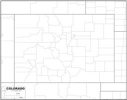 Maps Of Colorado by Free Map Of Colorado