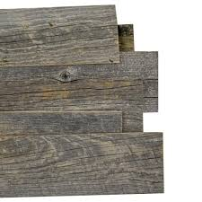 interior wall paneling home depot reborn 1 4 in x 5 in snow weathered 100 reclaimed wood wall
