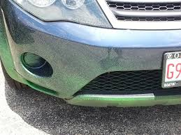 my cousin ran over a can of spray paint with her car pics