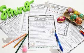 and spring grammar worksheets no prep middle and high