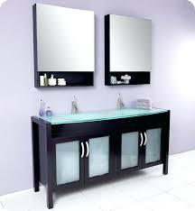 Bathroom Vanities With Glass Tops Vanities Contemporary Chrome Bathroom Vanity Lighting Glass Top