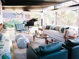 livingroom boston mid century modern home renovation in santa barbara california