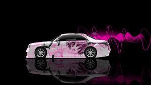 nissan pink 4k nissan cedric jdm tuning side anime aerography car 2015