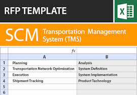 transportation management systems rfp template