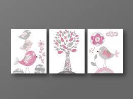 tableau pour chambre d enfant lot de 3 illustrations pour chambre d enfant et bebe et gris