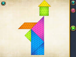 learn geometry by solving tangram puzzles in shape arts geometry