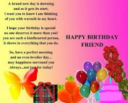 Happy Birthday Wishes To A Great Friendship Birthday Cards Birthday Card Definitely Adds