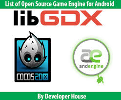 android engine list of open source engine for android platform