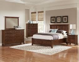 all american bonanza mansion storage bedroom set in cherry