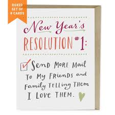 new year s resolution 1 card box of 8 emily mcdowell studio