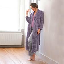 robe de chambre longue robe de chambre longue femme chambre con robe d interieur polaire