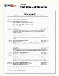 resume for part time job for student in australia college student resume for part time job template s