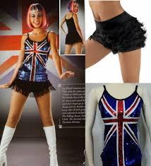 Curtain Call Costumes Size Chart by British Invasion Dance Costume Fringed Shorts U0026 Sequin Top