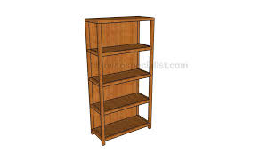 Woodworking Bookshelf Plans by Building A Bookcase Howtospecialist How To Build Step By Step