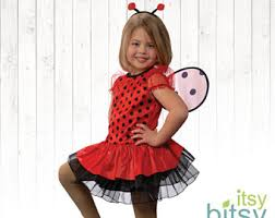 Halloween Costume Polka Dot Dress Ladybug Costume Etsy