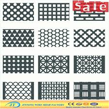 Round Holes Perforated Metal Stainless Steel Aluminium Mesh Sheet