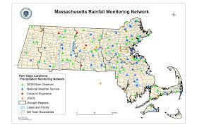 Franklin Ma Map Precipitation Monitoring