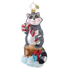 christopher radko ornaments 2014 radko rudy raccoon