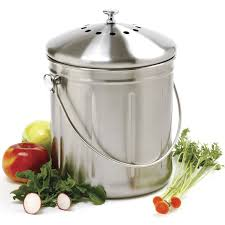 compost canister kitchen kitchen compost bin home decorator shop