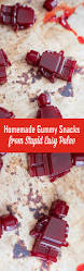 homemade gummy snacks recipe u2013 stupid easy paleo