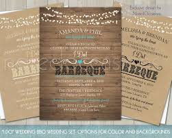 reception invitations printable i do bbq wedding reception invitation wedding