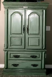 Painted Armoire Furniture Little Bit Of Paint Repurposed Armoire Update