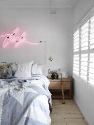 Bedroom Neon Lights Go Bright With Neon Lights Aphrochic Modern Soulful Style