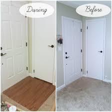 Ikea Laminate Flooring Installation Installing Self Stick Laminate Flooring Part 1 My Own Home Once