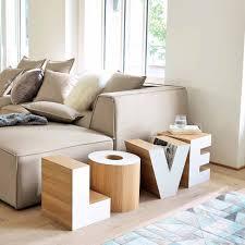 décoration canapé bout de canapé en bois blanc l 121 cm maisons du monde