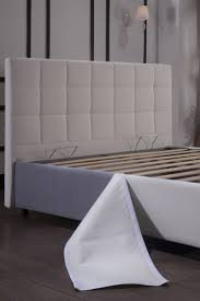 manila white queen size bed manila sunset furniture modern pic 4
