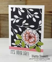 falling flowers stampin u0027 blends cards merry little christmas